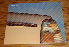 Original 1987 Volvo 240 Sales Brochure 87