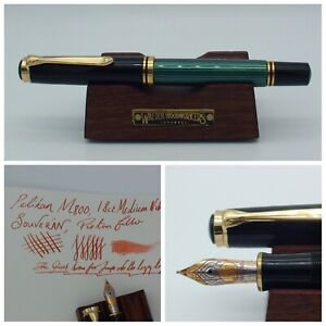 Pelikan M800 Fountain Pen 18k Gold Medium Nib