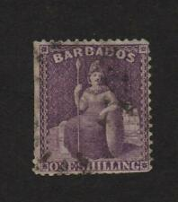 Barbados 56 used, has all FOUR Margins .. 2021 Scott=$18.50