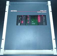 Zetron Model 2100 2000 Series paging terminal w/ cards