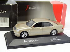 J Collection 1/43 - Lexus LS 430 Beige métal