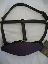 CIRCLE Y LEATHER HALTER OSTRICH NOSE--NEW WITH TAGS