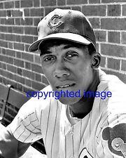 Fergie Jenkins Chicago Cubs 1967-73, 82-83 HOF'er 1991  Wrigley Field B+W 8x10 A