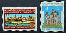 AUTRICHE timbre - Yvert et Tellier n°1779 et 1780 n** stamp Austria (cyn5)