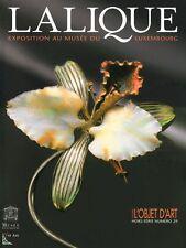 René Lalique : Exposition au musée du Luxembourg