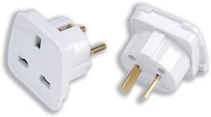 Travel Adaptor Universal UK EU and International Worldwide Combined Plug