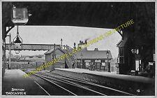 Tadcaster Railway Station Photo. Church Fenton - Newton Kyme. Harrogate Line (1)