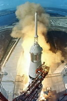 New 5x7 NASA Photo: Launch of First Lunar Landing Mission Apollo 11