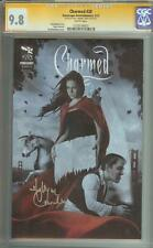 CHARMED #20 SS CGC 9.8 AUTO HOLLY MARIE COMBS PIPER