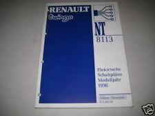 Schaltpläne Renault Twingo, Stand 1996