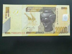 CONGO 20000 FRANCS 2006 UNC