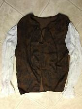 CUSTOM RENAISSANCE SHIRT w/DRAWSTRING, LARGE IN SIZE, EXCELLENT CONDITION, CLEAN