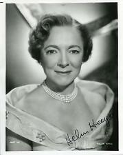 HELEN HAYES SILENT MOVIE ACTRESS IN THE SNOOP SISTERS SIGNED PHOTO AUTOGRAPH