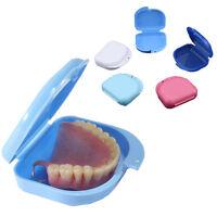 Dental Retainer Case Dentures Mouthguard Brace Falsche Zähne Denture storage box