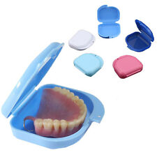 Dental Orthodontic Retainer Denture Storage Case Box Mouthguard Container 2018