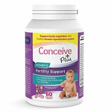 Conceive Plus Women's Fertility Support Vitamins , 60 caps 30 day supply