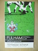 1965 League Division One- FULHAN v TOTTENHAM HOTSPUR, 4 Sept (Org* Exc)