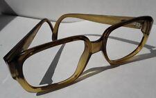 Vtg Viennaline 3066 Eyeglasses Austria Square Thick Frames Translucent 54 18 130