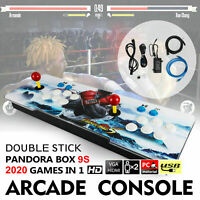 New 2020 in 1 Pandora Box 9s Retro Video Games Double Stick Arcade Console Light