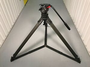 Sachtler Video 14 Mk 1 75mm bowl Tripod with Single Stage Legs + 1 x Pan Arm