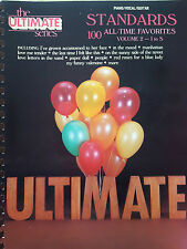 The Ultimate Series: Standards Volume 2 (Piano/Vocal/Guitar Songbook) - MINT!