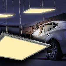 LED Panel Bürolampen Arbeits Raster Garagen Beleuchtung Werkstatt Hängeleuchten