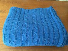 Lovely Blue Ralph Lauren couverture/plaid