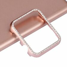 Crystal Bling Rhinestone Case Diamond Protective Cover Snap on Frame Apple Watch