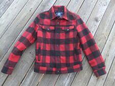 Men's American Rag Red , Medium, Pristine ConditionFlannel Coat