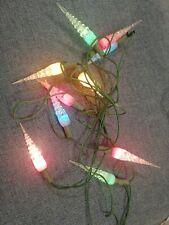 10 vintage luci multicolor natale natalizie albero ghiaccio leggere descrizione