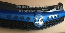 NEW CUSTOM MADE ASTRA H ARDEN BLUE VXR OPEL OPC FRONT BUMPER GRILL COMPLETE £259