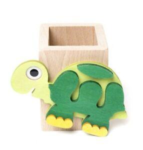 il pianeta delle idee - portamatite legno - tartaruga - Made Italy - bambini