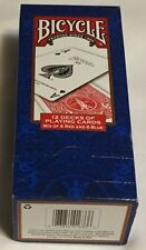 BICYCLE 12 DECKS OF PLAYING CARDS  (MIX OF 6 RED AND 6 BLUE)