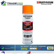 Line Marking Paint PRO Rustoleum Fluoro Orange Spray 454g Tin Road Grass Marker