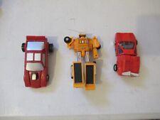 Go Bots Gobots G1 vintage lot of 3 figures