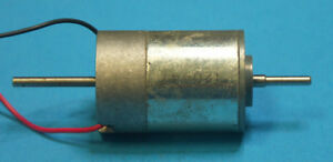12 Volt 7 Pole Dual Shaft DC Motor
