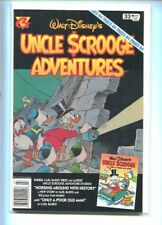 GLADSTONE UNCLE SCROOGE ADVENTURES #33 HI GRADE 9.2 CLASSIC COVER