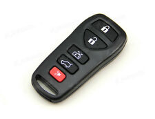 Remote Key Keyless Fob Shell Case For Nissan Quest Mini Van 5 Buttons Panic 5BT