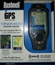 "Bushnell ONIX400 3.5"" GPS Weather Tracker with XM Satellite Radio - NEW!!"