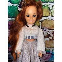 "Vintage Crissy Doll 1969 Ideal 18"" READ"