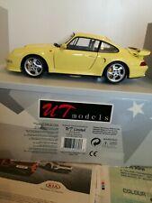 UT Porsche Turbo S 1/18 Yellow