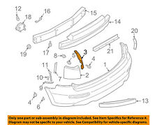 Infiniti NISSAN OEM 03-08 FX35 Rear Bumper-Inner Cover Right 85074CG000