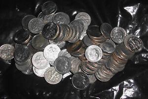 100 American Dime Coins