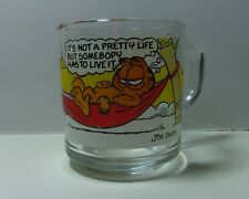 """Vintage 1978 McDonald's Garfield """"It's Not A Pretty Life"""" Coffee Cup"""