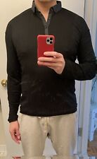 lululemon Black (size M) Merino Wool Long Sleeve Sweater
