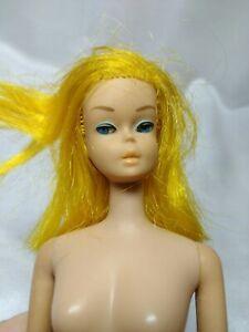 1966 Color Magic Barbie doll yellow hair, High Color  Vintage 60's Japan