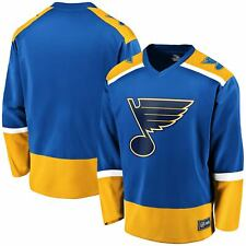 St. Louis Blues Fanatics Branded Replica Jersey - Blue