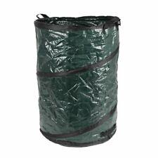 Selbstaufstellender Abfallbehälter für Laub und Gartenabfälle Einfüllhilfe