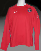 PSG Paris Saint GERMAIN Player Issue Football Training Long Slvd Sweatshirt XL