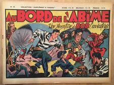 Supplément à Tarzan - Bob l'Aviateur (Au Bord de l'Abîme) - 1948 - TBE